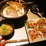座銀 - ①鶏Soba & 贅沢