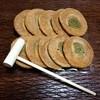 養肝漬 宮崎屋 - 料理写真:かたやき(木槌付きw)