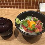 日本酒バル さわら - 海鮮まかない丼