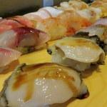 さくら宇部店 - 料理写真:旬の握り寿司。これはうまい!