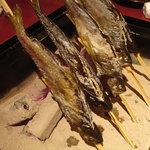 囲炉裏の蔵 じげん - 岩魚