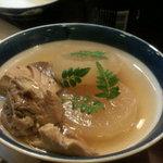 五島寿し - 煮物もおいしいです。ぶり大根