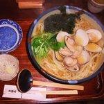 利静庵 甚五郎 - 料理写真:はまぐりうどん