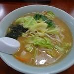 城東飯店 - 料理写真:味噌ラーメン500円