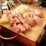 35669135 - 鶏出汁おでん(鶏串など)