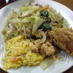 大陸飯店 - 中華定食のおかず