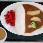 がんばり山 - 料理写真:奈良俣ダムカレー…税込1000円