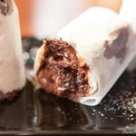 ピッツェリア デラチッタ - 料理写真:チョコレートとナスとリコッタチーズのドルチェピッツァ