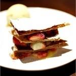 lumielune - デザートもおいしい♪いちごとレモンクリームのミルフィーユ