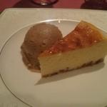 シェ・ワタナベ - チーズケーキ