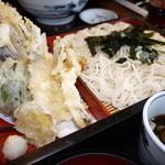 そば処 福住 - 料理写真:天ぷらそば