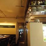 マーサー カフェ - 落ち着く店内〜♬