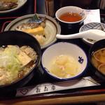 お多幸 - 豆茶飯定食