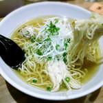 天然だし麺処 あさま - 料理写真:鶏ガラだし塩