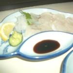 活魚料理・炭火焼 中ちゃん - 料理写真:河豚の刺身