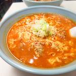 亀鶴 - タンタンメン700円
