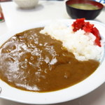 亀鶴 - 名物の明治キンケイ インドカレー