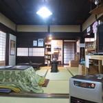 かめや - 和室におこたで落ち着けます(^^)