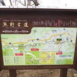 かめや - 店の前の道は熊野古道であります。