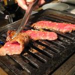 焼肉×バル マルウシミート - カルビ(たれ)