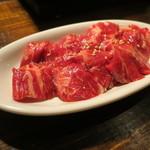 焼肉×バル マルウシミート - 中落ちカルビ(たれ)