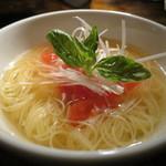 焼肉×バル マルウシミート - マルシミートのトマト冷麺