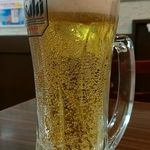 龍膳 - 生ビール(480円)