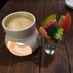 35682350 - ベチロカの厳選お野菜(Sサイズ)、バーニャカウダソース