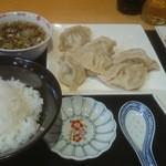Oukegyouza - 水餃子定食♪