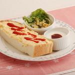 桜宮珈琲 - モーニング:日替わりトースト
