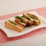 桜宮珈琲 - 照り焼きチキンサンド