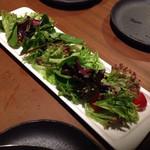 35683870 - シンプルなグリーンサラダ(750円)