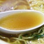 らぁめん醤和 - 清湯醤油スープ