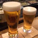 八孝 - ビール♪