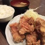 35687973 - 和風鶏から揚げ定食  690円