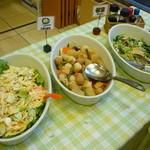 東横INN - お野菜系コーナー