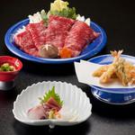 割烹 天ぷら 三太郎 - 黒毛和牛すきやき会席 ¥11,000