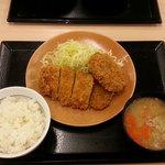 かつや - 料理写真:ロースメンチカツ定食