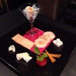 Cafe&Bar Vacation - チーズ盛合せ