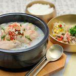 水刺齋 - 参鶏湯セット