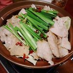 とりでん - 黒鍋(〆ラーメン付) 1,382円