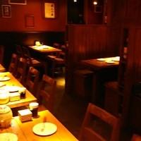 バル肉寿司 - 落ち着いた空間♪デートにもいいですね♪