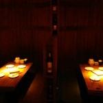 バル肉寿司 - 人気のBOX席♪