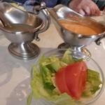 たつみ亭 - サラダ
