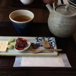 茶かわせみ - 焙じ茶セット