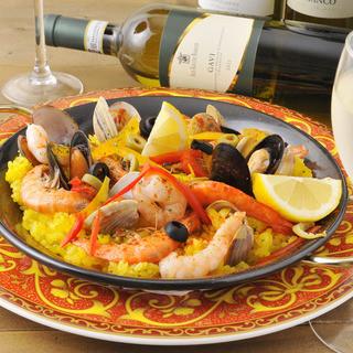本格的な地中海料理・イタリアン料理