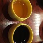 慶楼 - デザートはセルフ 紅茶のゼリーかコーヒーゼリー