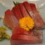 季節料理くら井 - カンパチ刺身680円 歯ごたえが素晴らしい^^