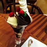35698550 - ショコラパルフェ♡チョコが濃厚!!