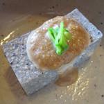 名代五目めし 四季乃舎 - 料理写真:利休豆腐